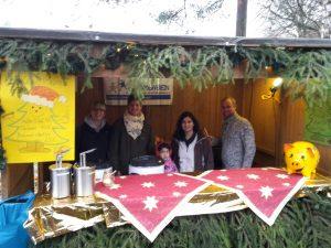 Unser Stand bei der Waldweihnacht 2015